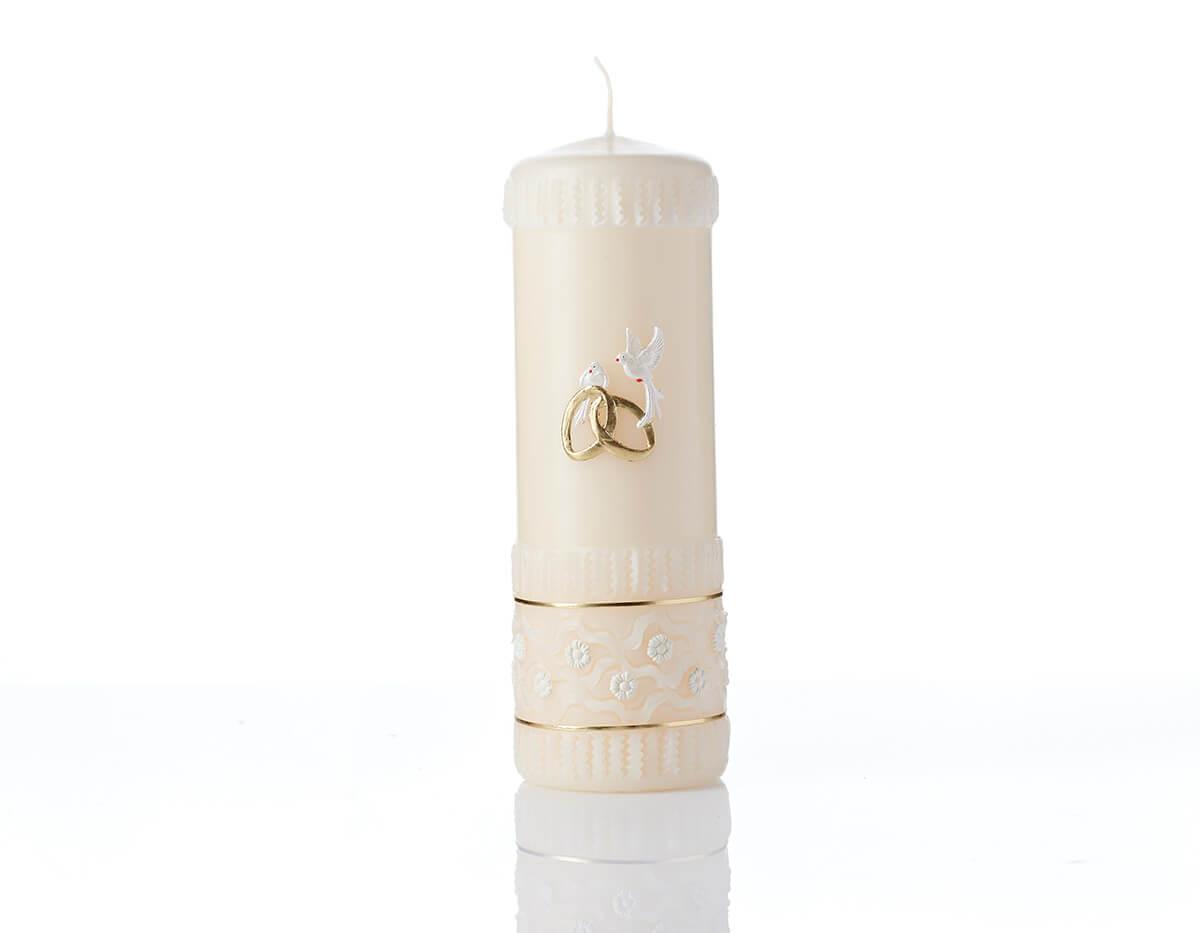 Poročna sveča po naročilu